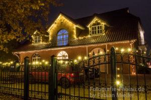 Leuchtendes Haus