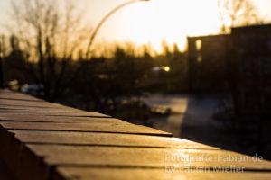 Sonnenschein am Morgen