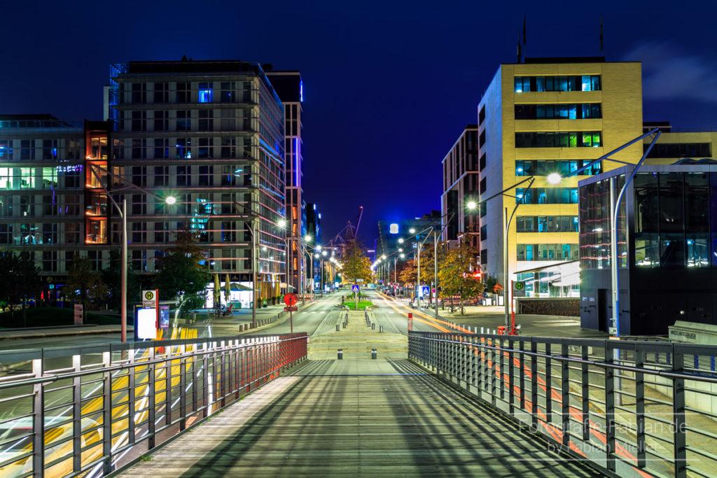 Blick in die HafenCity